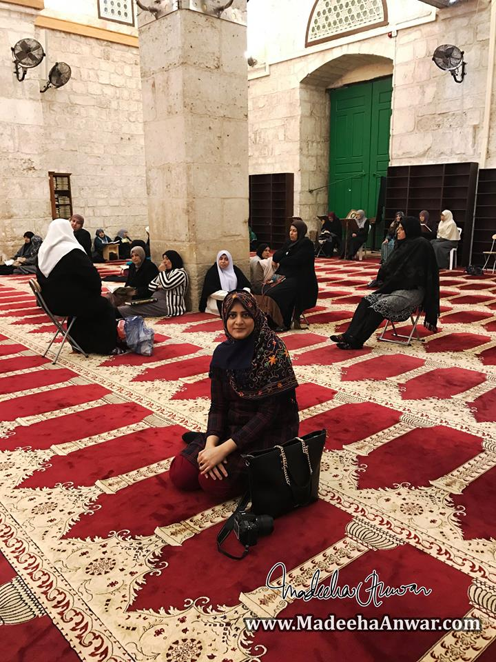 pray-area-for-women-in-masjid-e-aqsa-madeeha-anwar-chaudhry
