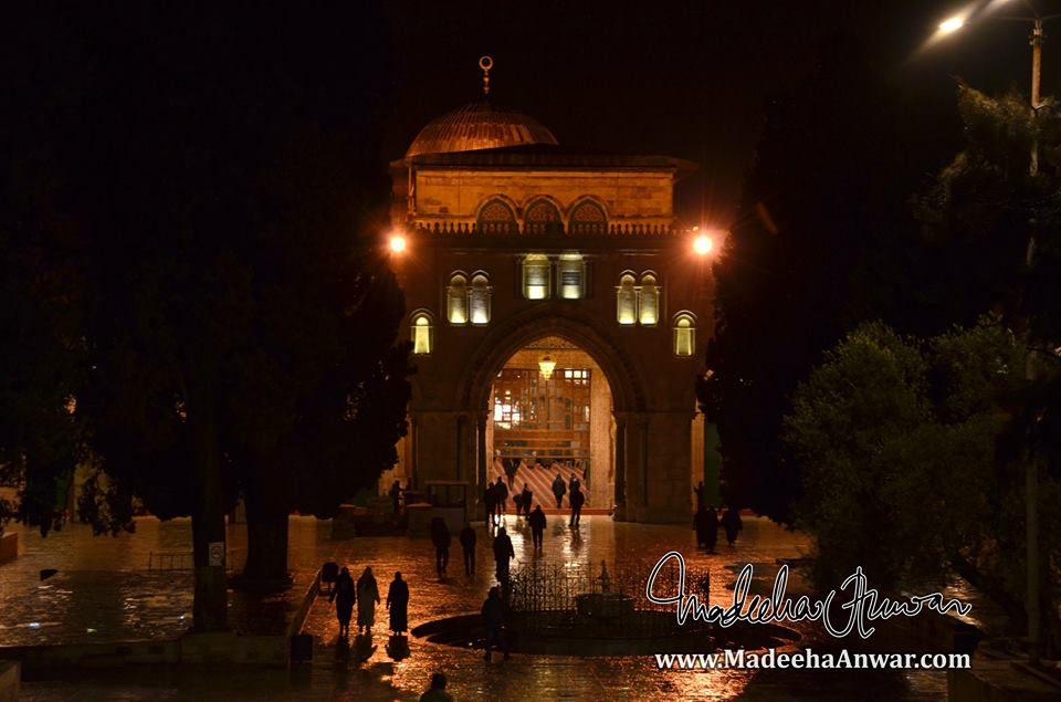 the-first-sight-of-al-aqsa-mosque-at-fajr-time-madeeha-anwar-chaudhry