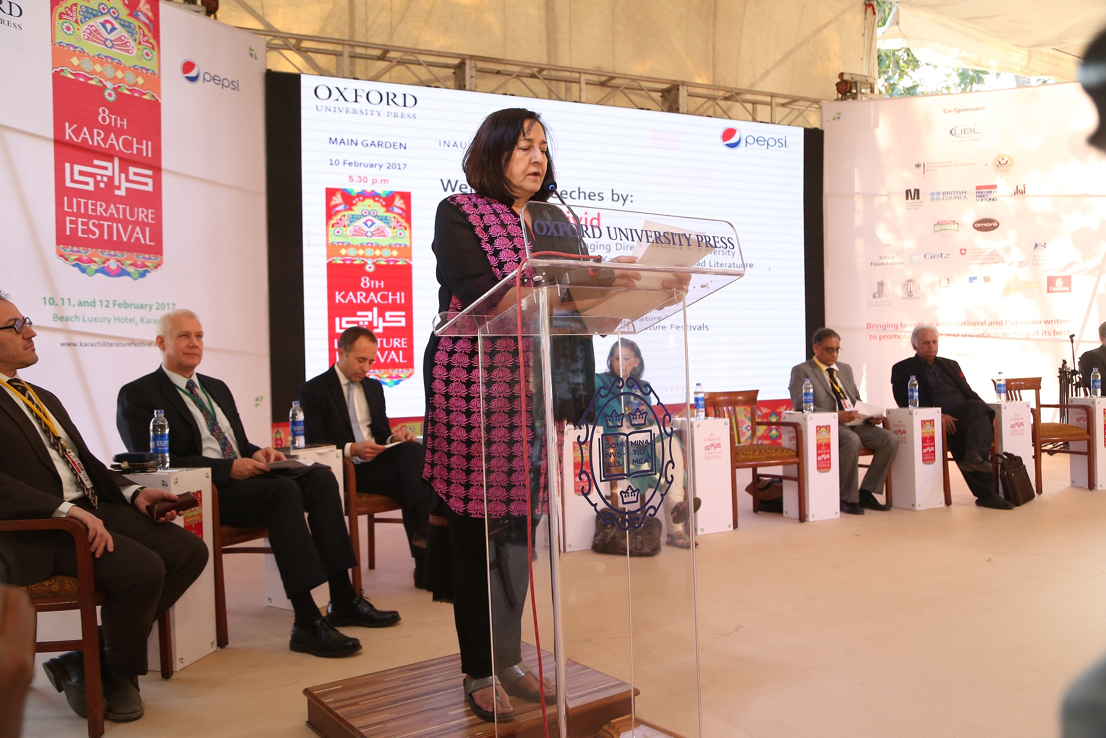 Ameena Saiyid OBE Managing Director Oxford University Press Founder Director Karachi Literature Festival and Co-founder Children Literature Festival