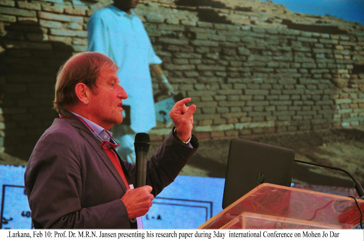 Prof. Dr. M.R.N Jansen readout research on Mohen Jo Daro and Indus Valley Civilization