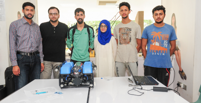 Pakistani students win big in Underwater Vehicle Challenge in Singapore 1