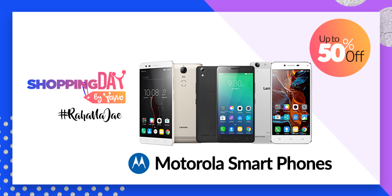 Shopping Day by Yayvo Lenovo Motorola Smartphones