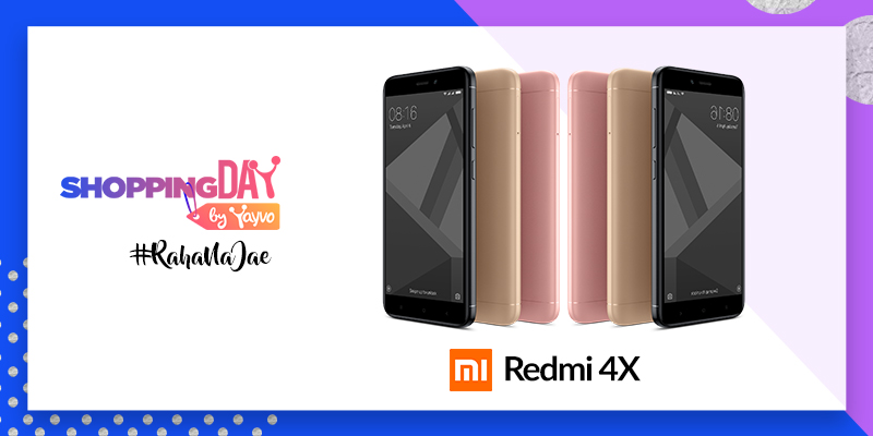 Shopping Day by Yayvo Xiaomi Redmi 4X Launch